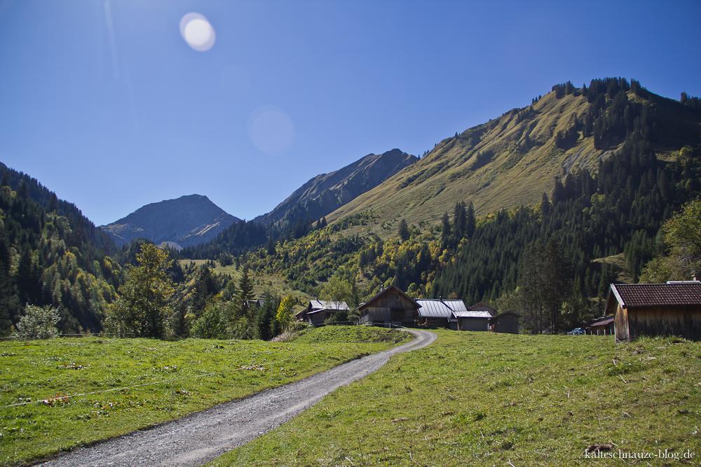 Tirols größtes Almdorf: Fallerschein