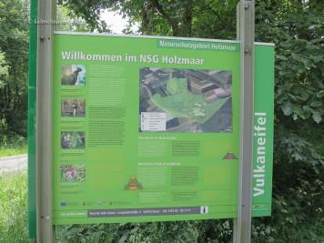 Willkommen im NSG Holzmaar.