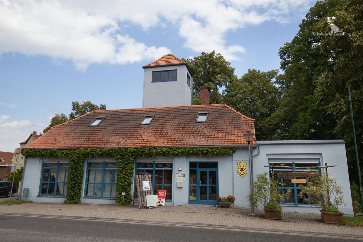 Das Flößereimuseum in Lychen.