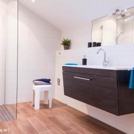 Badezimmer Wohnung 3 – Ferienhaus Traumblick