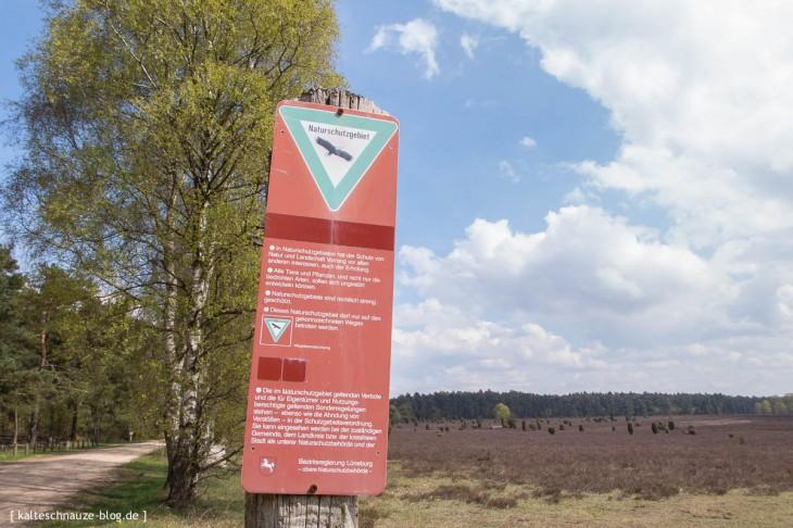 Naturschutz wird in der Südheide groß geschrieben.