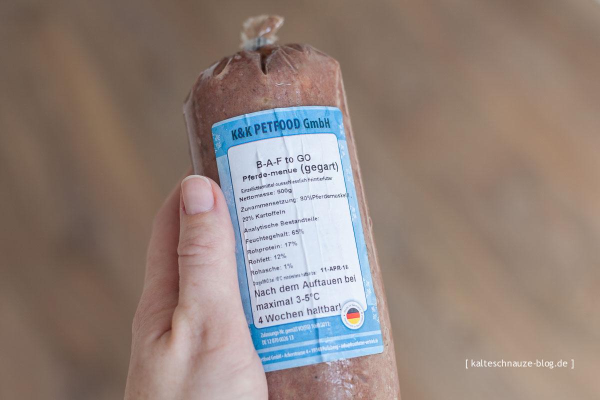 Pferde-Menü - BAF to Go - K&K Petfood
