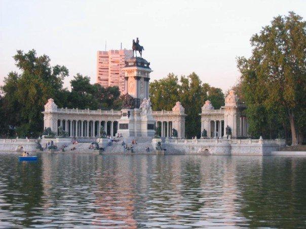 Estanque Grande Retiro Madrid Kalte Schnauze Hundeblog