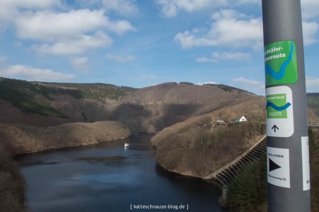 Wasserlandroute - Urftstaumauer