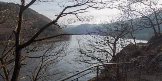 Und wieder ein fantastischer Blick auf den Obersee.
